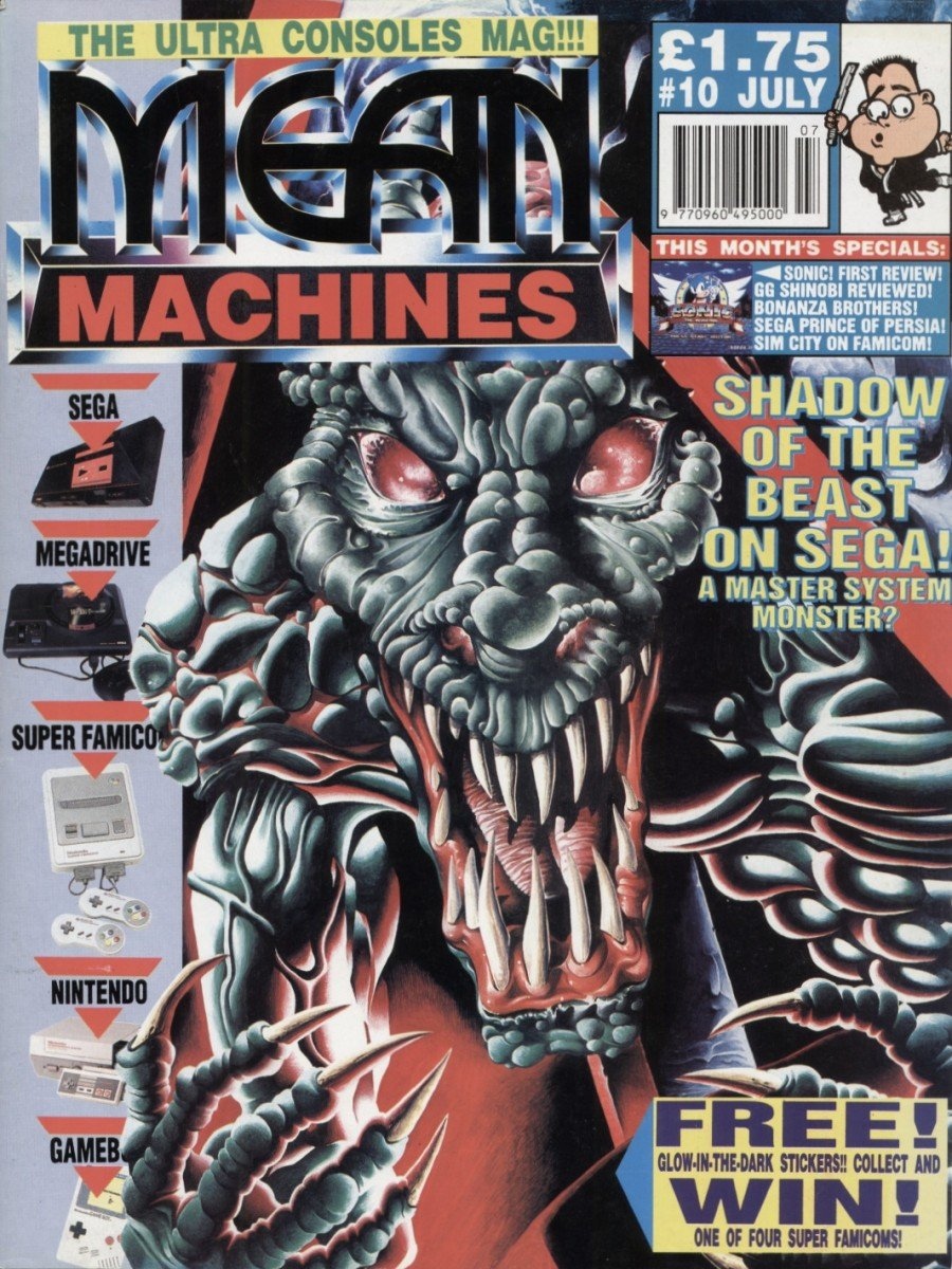 Mean Machines 10 (July 1991)