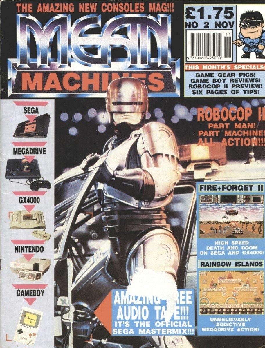 Mean Machines 02 (November 1990)