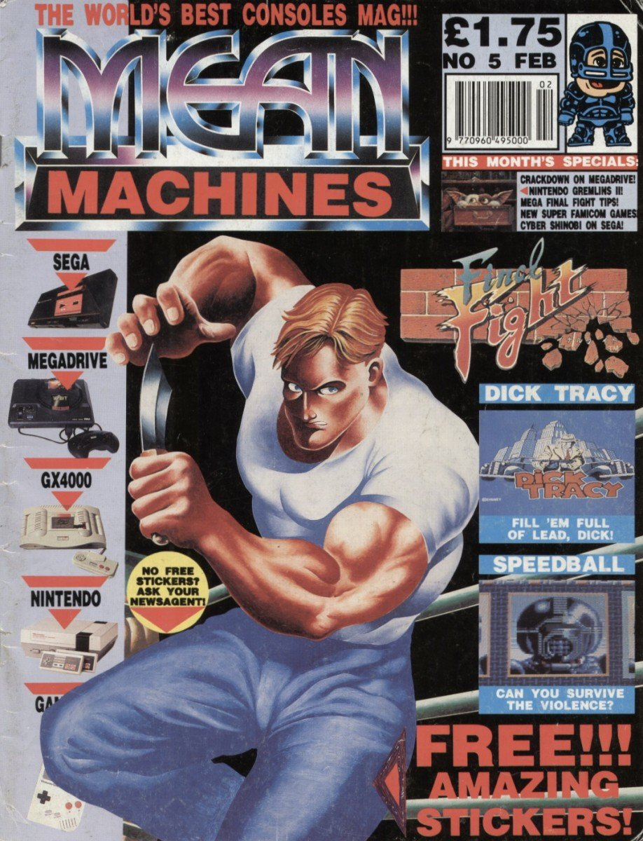 Mean Machines 05 (February 1991)
