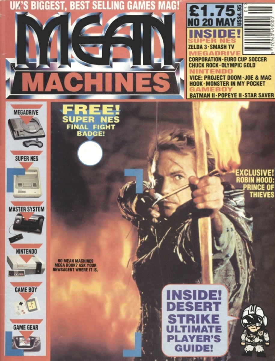 Mean Machines 20 (May 1992)