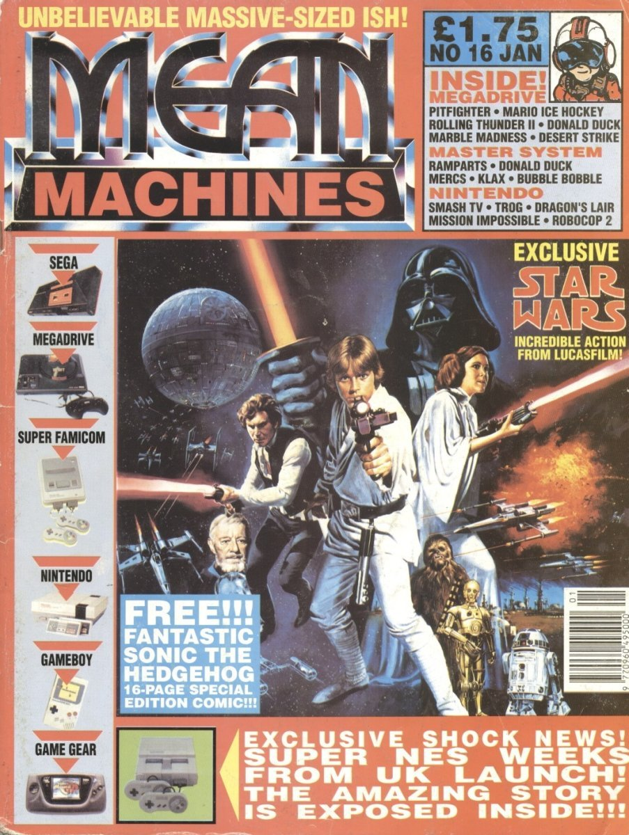 Mean Machines 16 (January 1992)