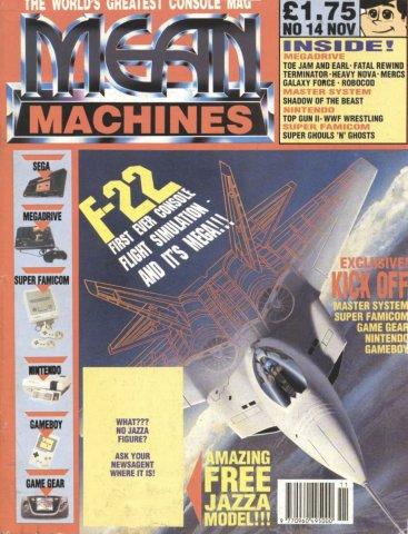 Mean Machines 14 (November 1991)