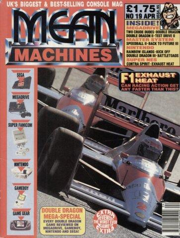 Mean Machines 19 (April 1992)