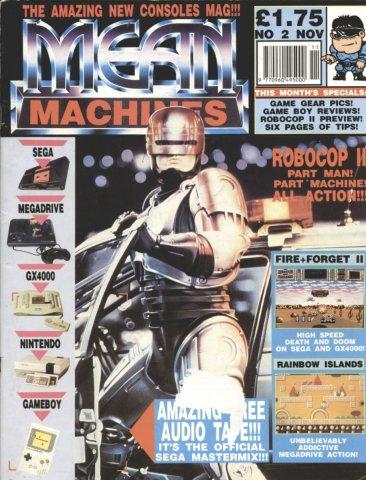 Mean Machines 02 (November 1990)