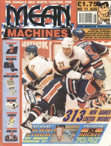 Mean Machines 11 (August 1991)