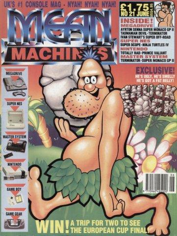 Mean Machines 21 (June 1992)