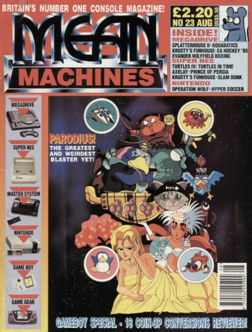 Mean Machines 23 (August 1992)