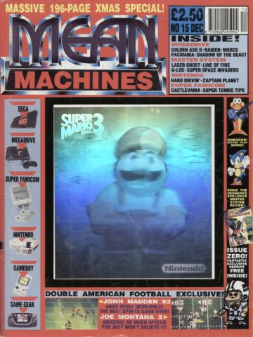 Mean Machines 15 (December 1991)