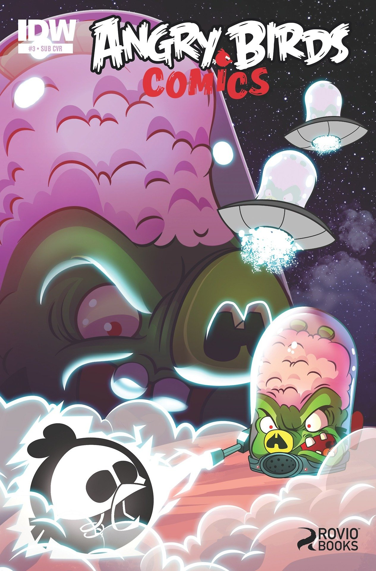 Angry Birds Comics 03 (August 2014) (subscriber cover)