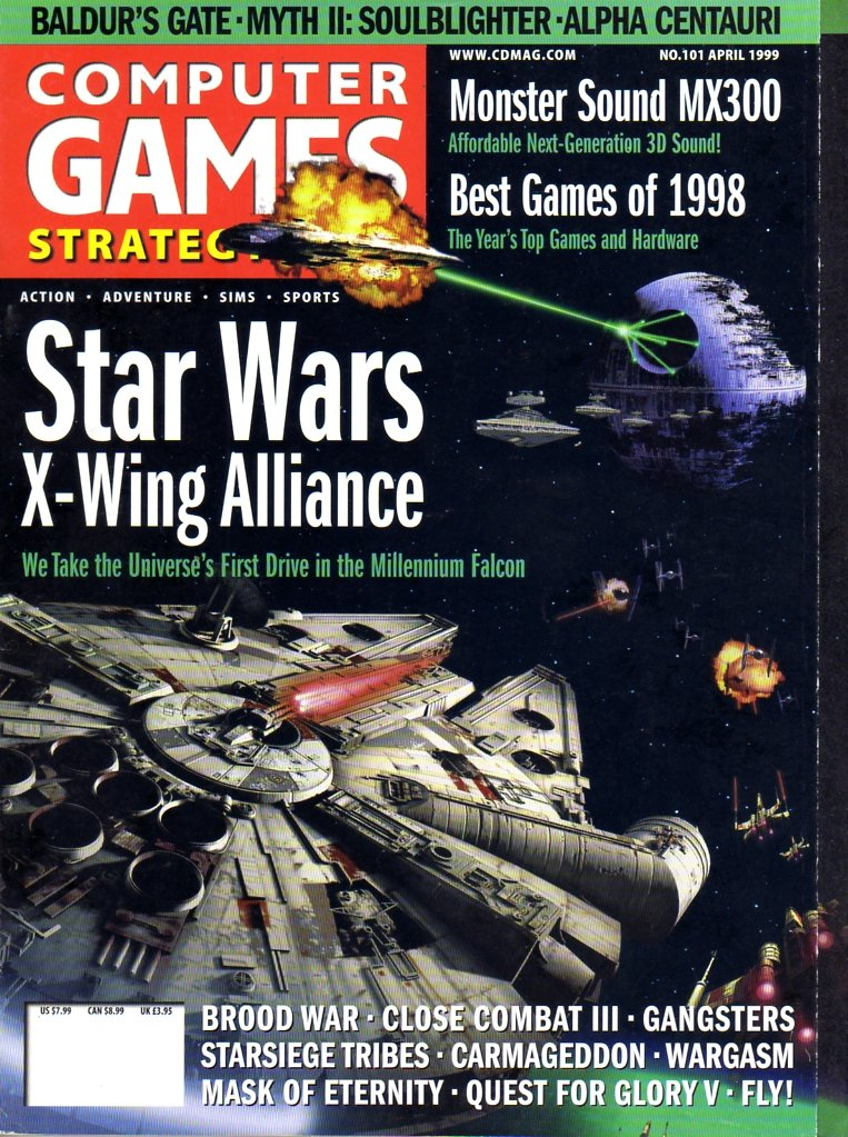 Computer Games Strategy Plus Issue 101 (April 1999)