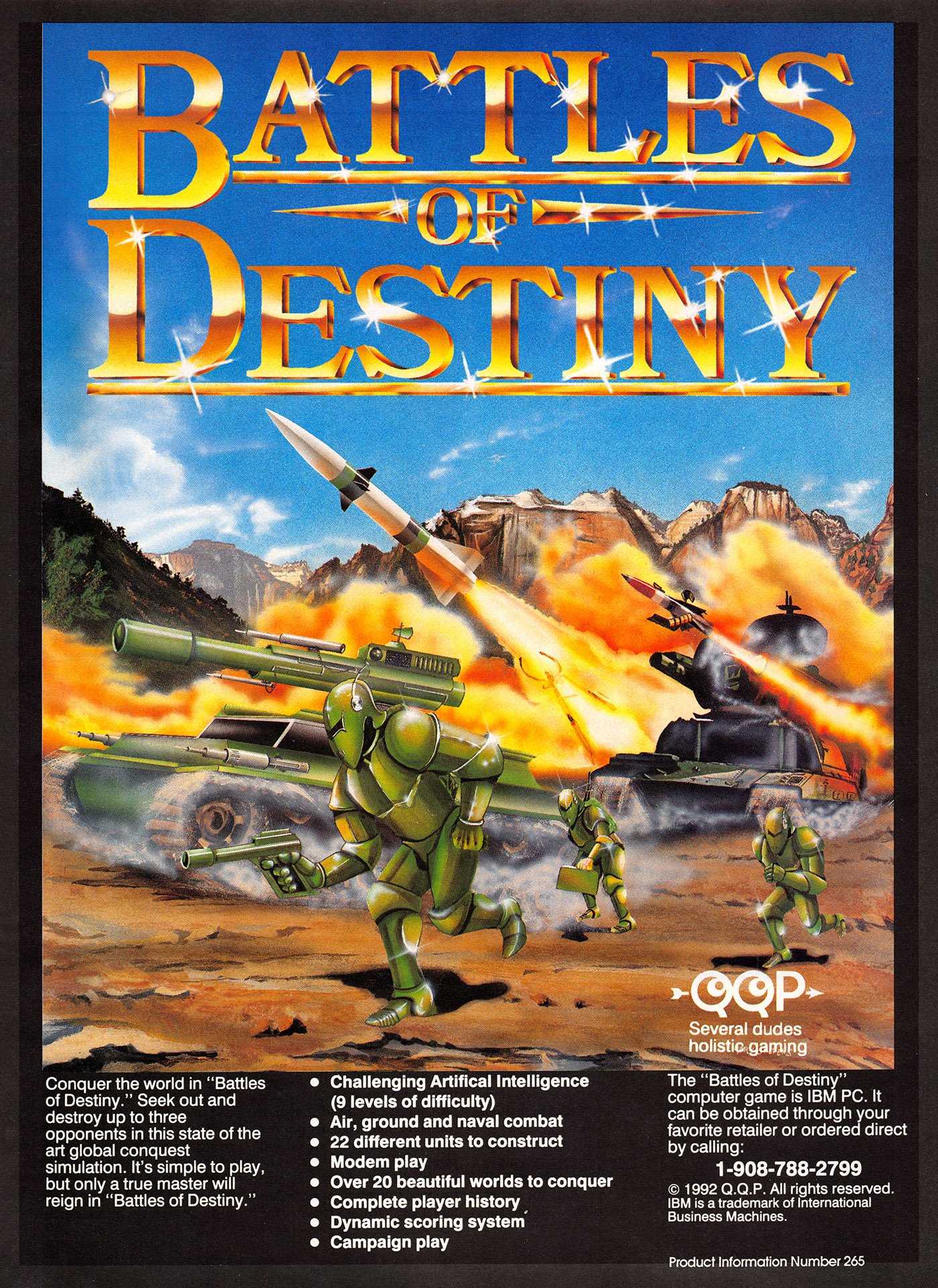 Battles of Destiny