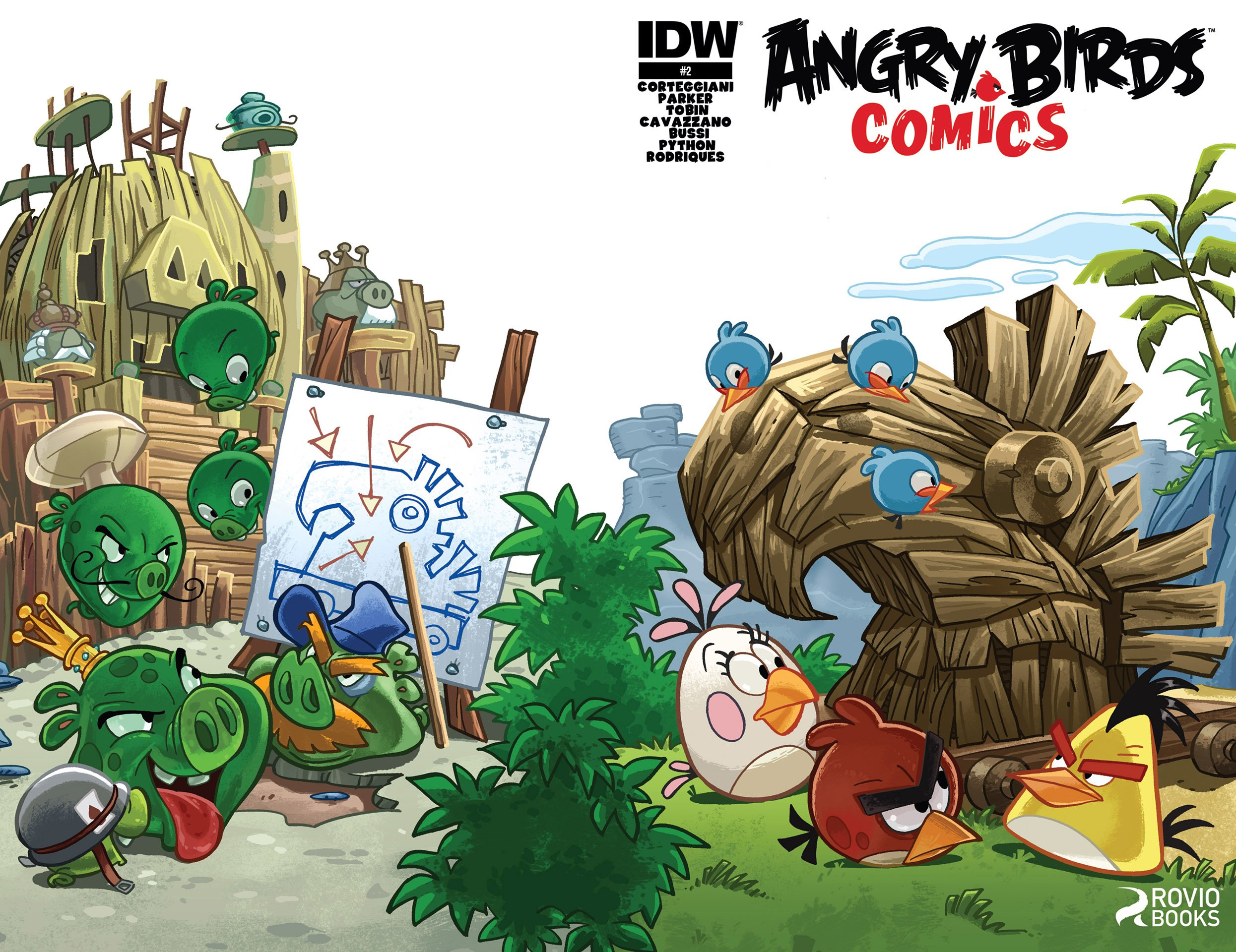 Angry Birds Comics 02 (July 2014)
