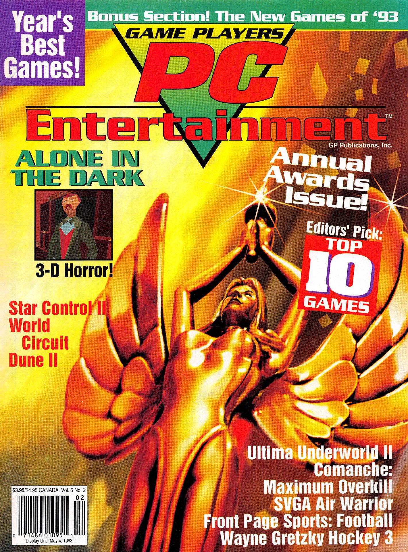 Game Players PC Entertainment Vol.6 No.2 (March/April 1993)