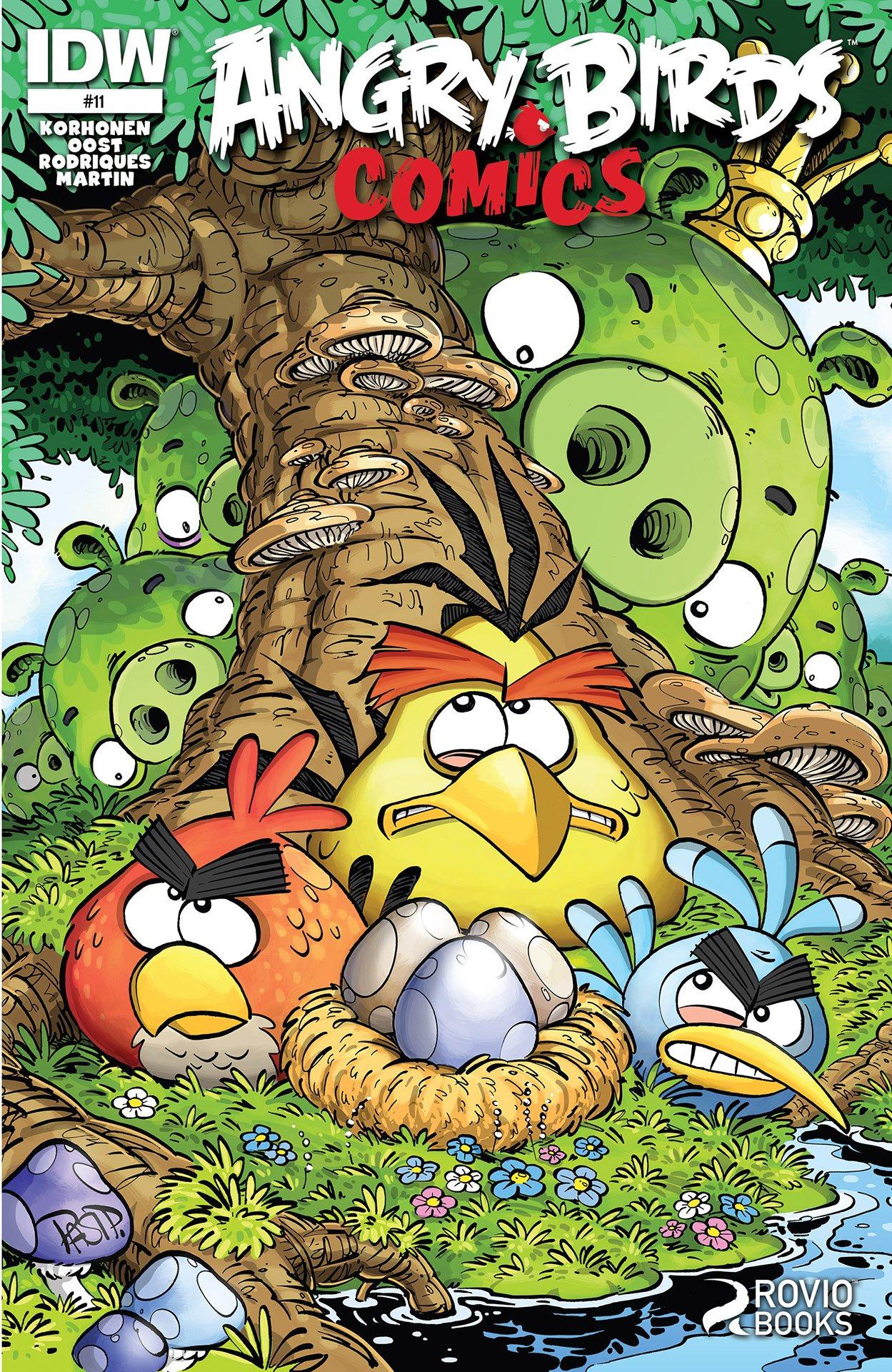 Angry Birds Comics 11 (May 2015)