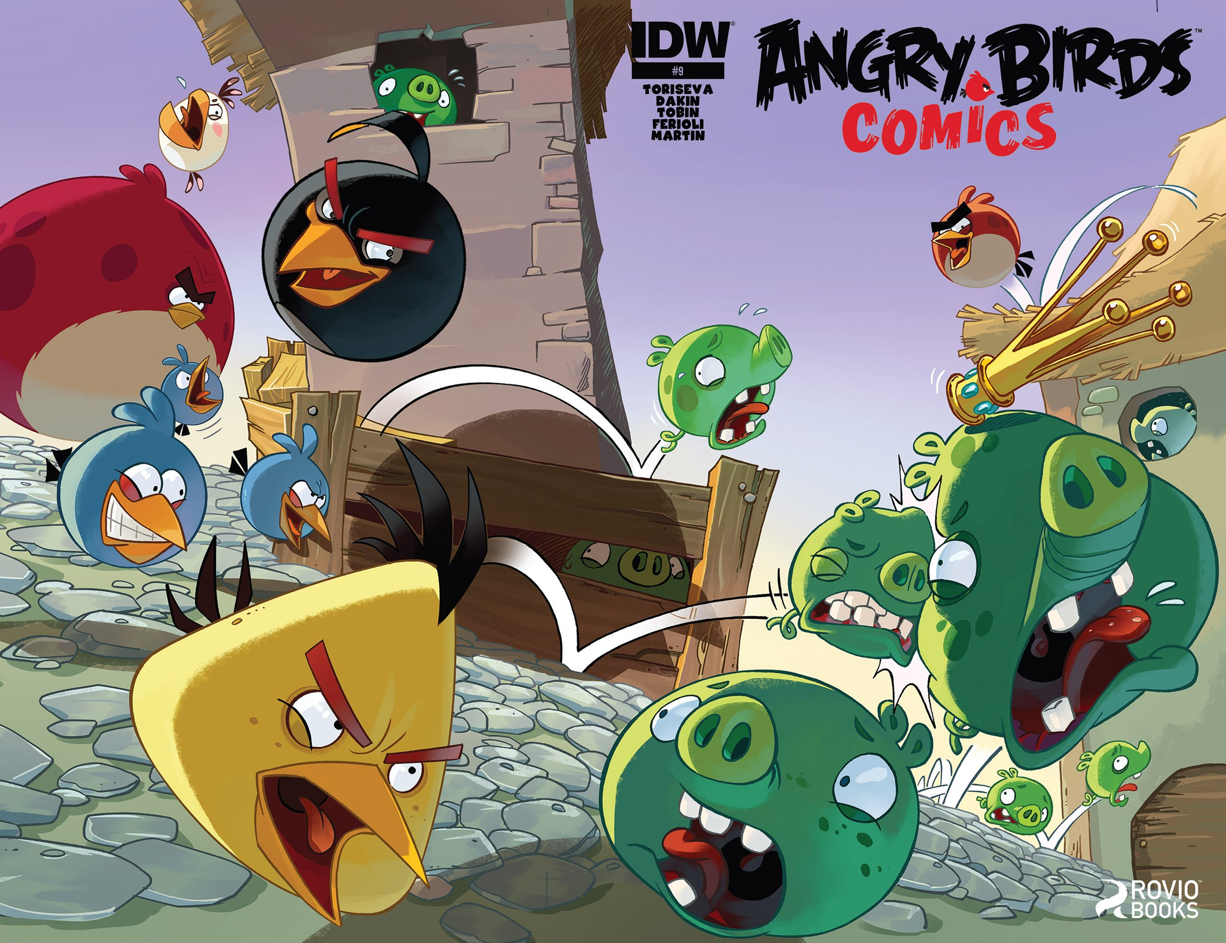 Angry Birds Comics 09 (March 2015)