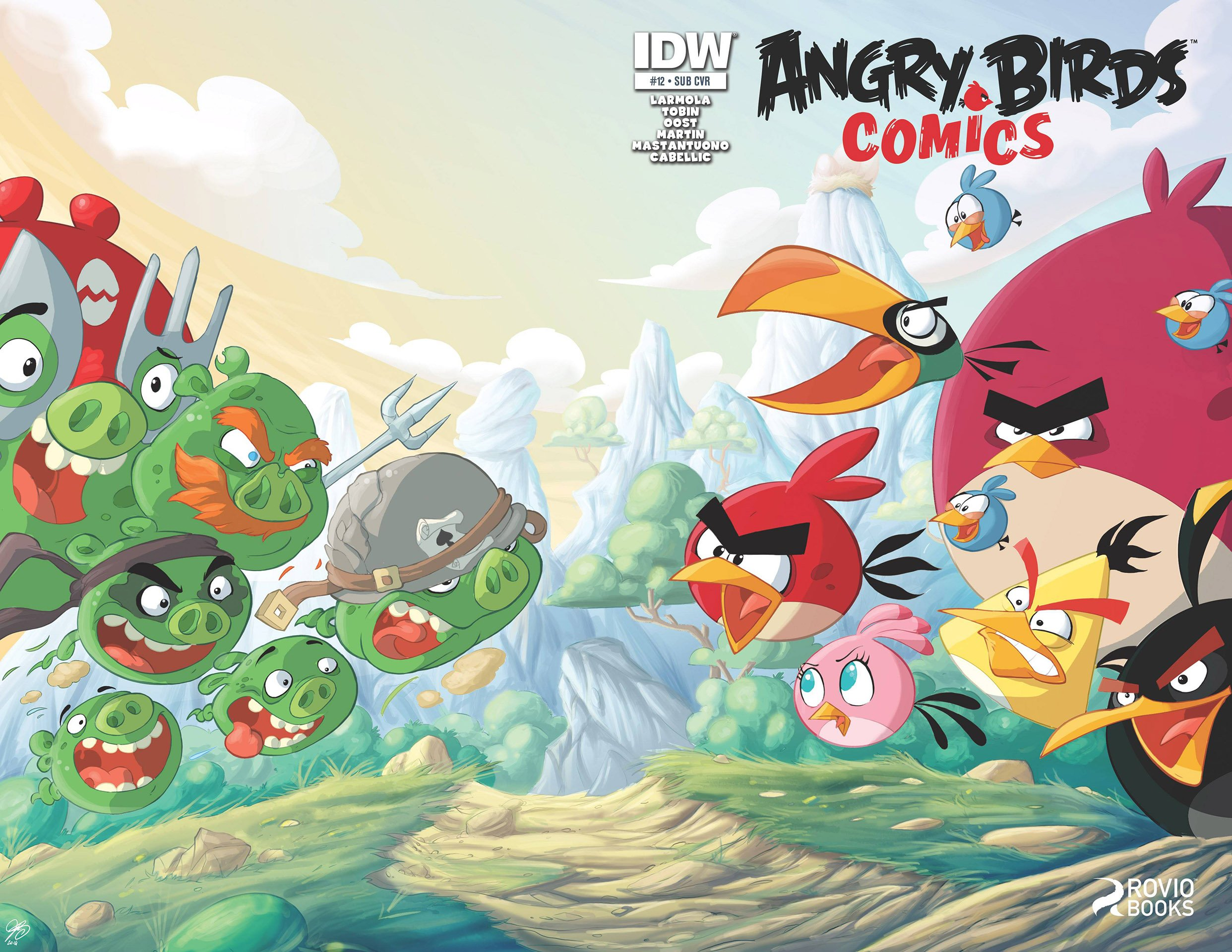 Angry Birds Comics 12 (June 2015) (subscriber cover)