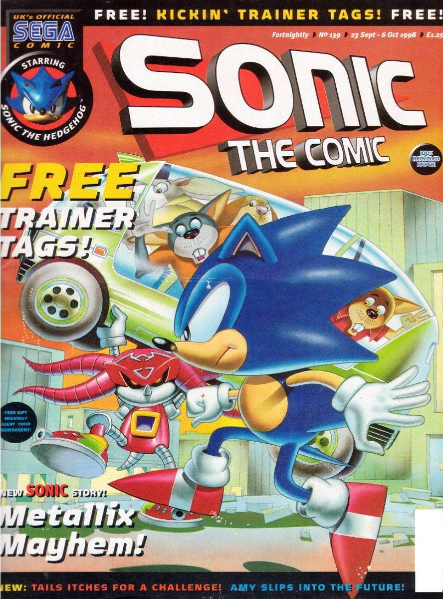 Sonic the Comic 139 (September 23, 1998)