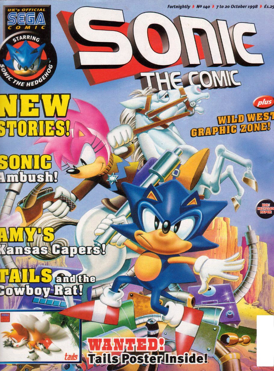 Sonic the Comic 140 (October 7, 1998)