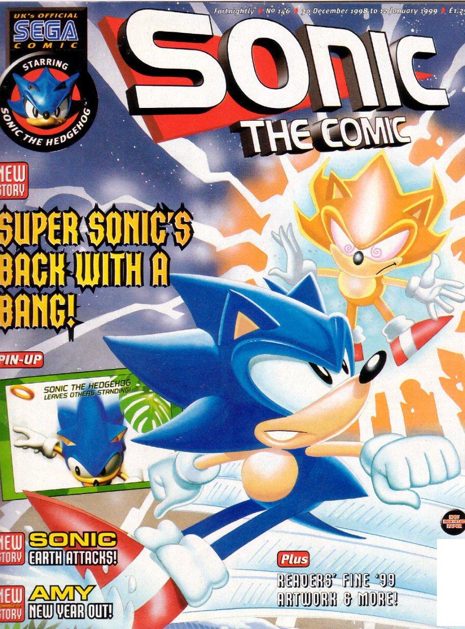 Sonic the Comic 146 (December 30, 1998)