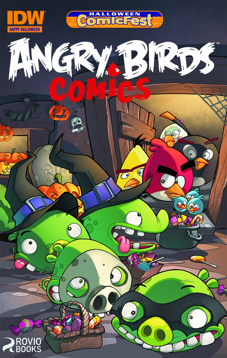 Angry Birds Comics Halloween ComicFest (2014)