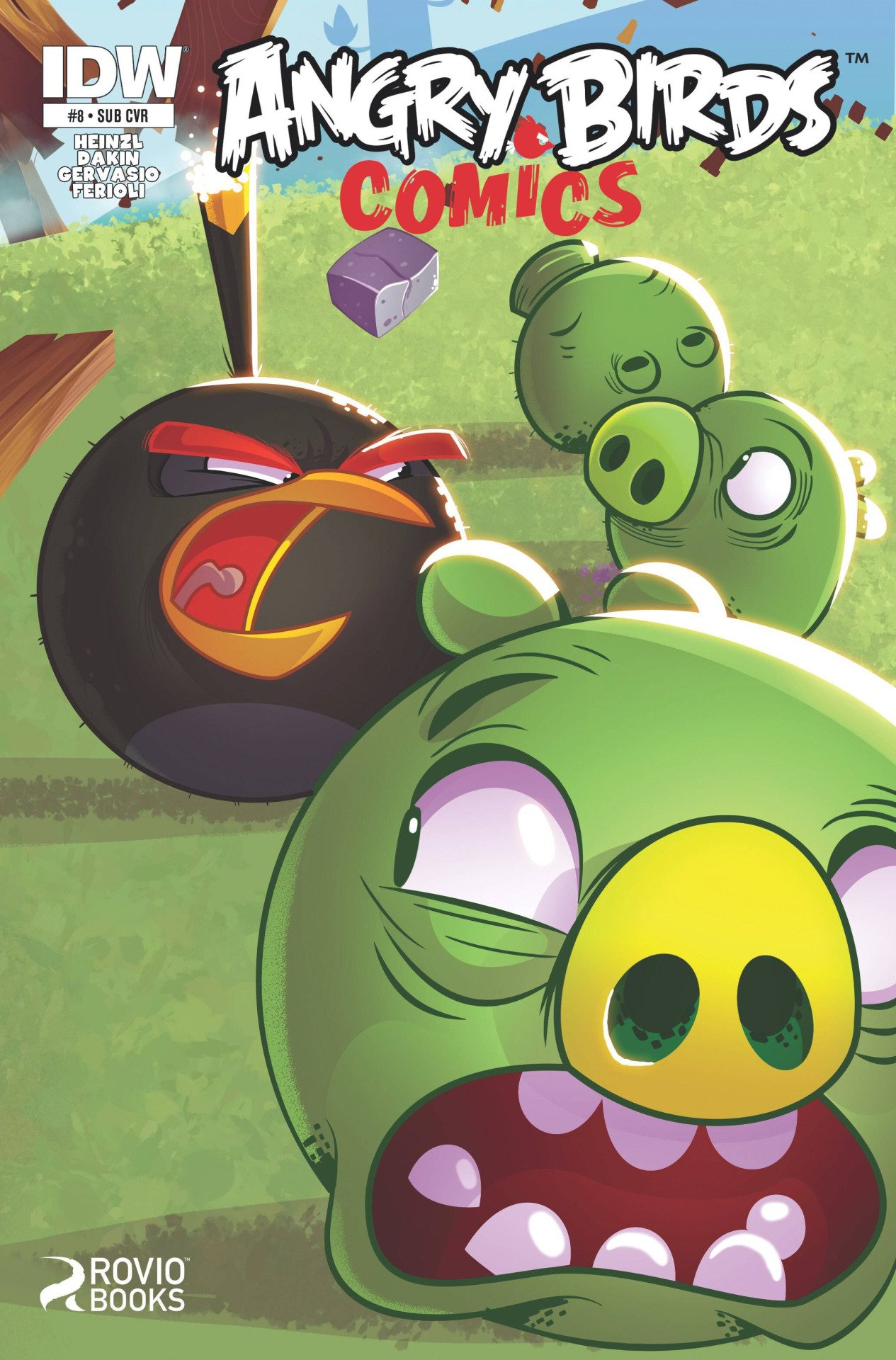 Angry Birds Comics 08 (February 2015) (subscriber cover)
