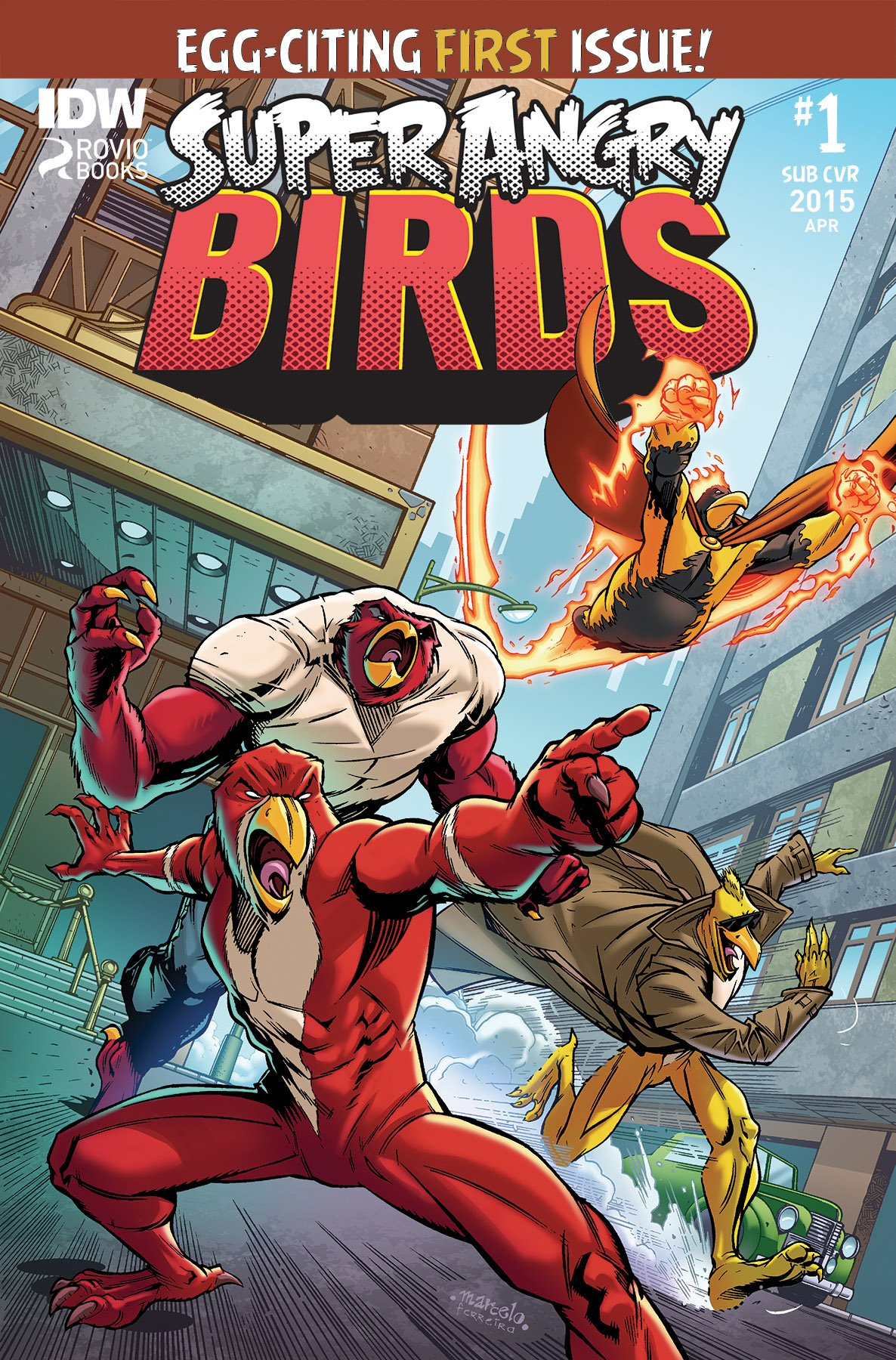 Super Angry Birds 01 (subscriber cover)
