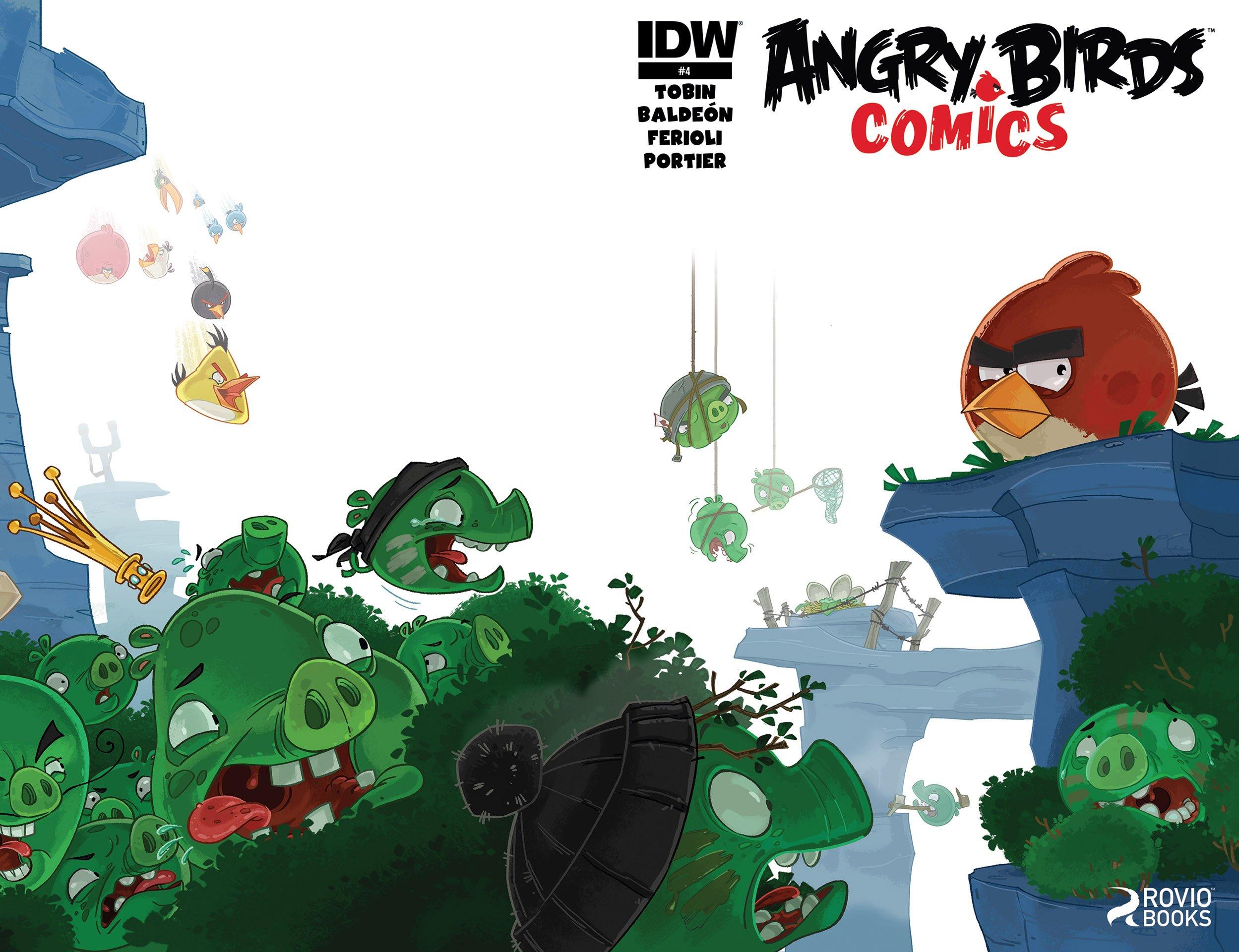 Angry Birds Comics 04 (September 2014)