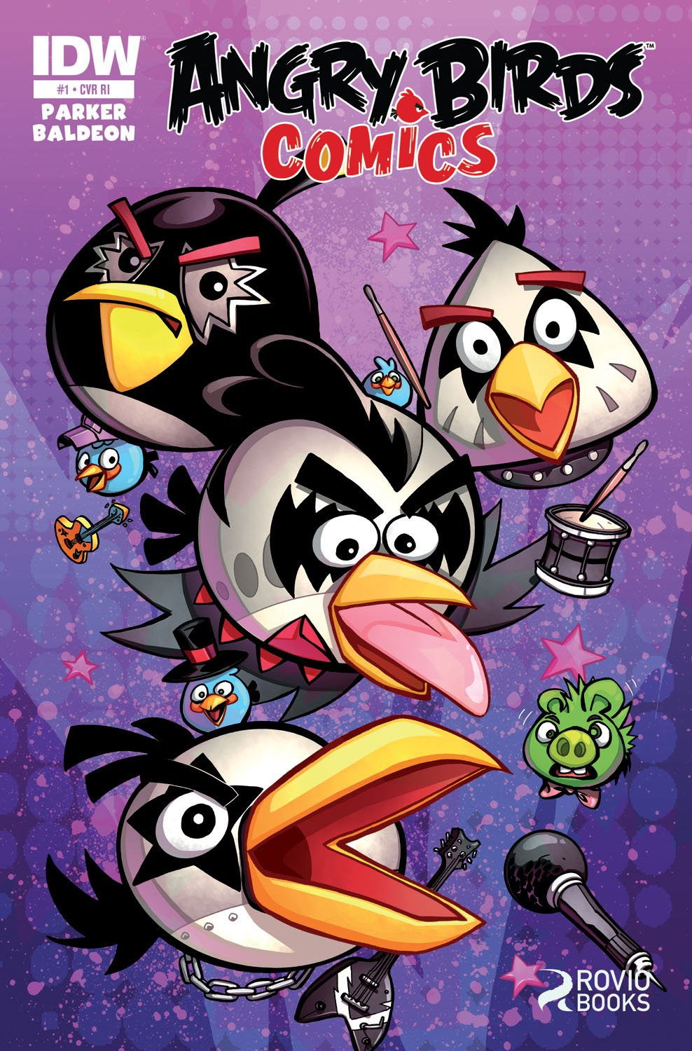 Angry Birds Comics 01 (June 2014) (retailer incentive cover)