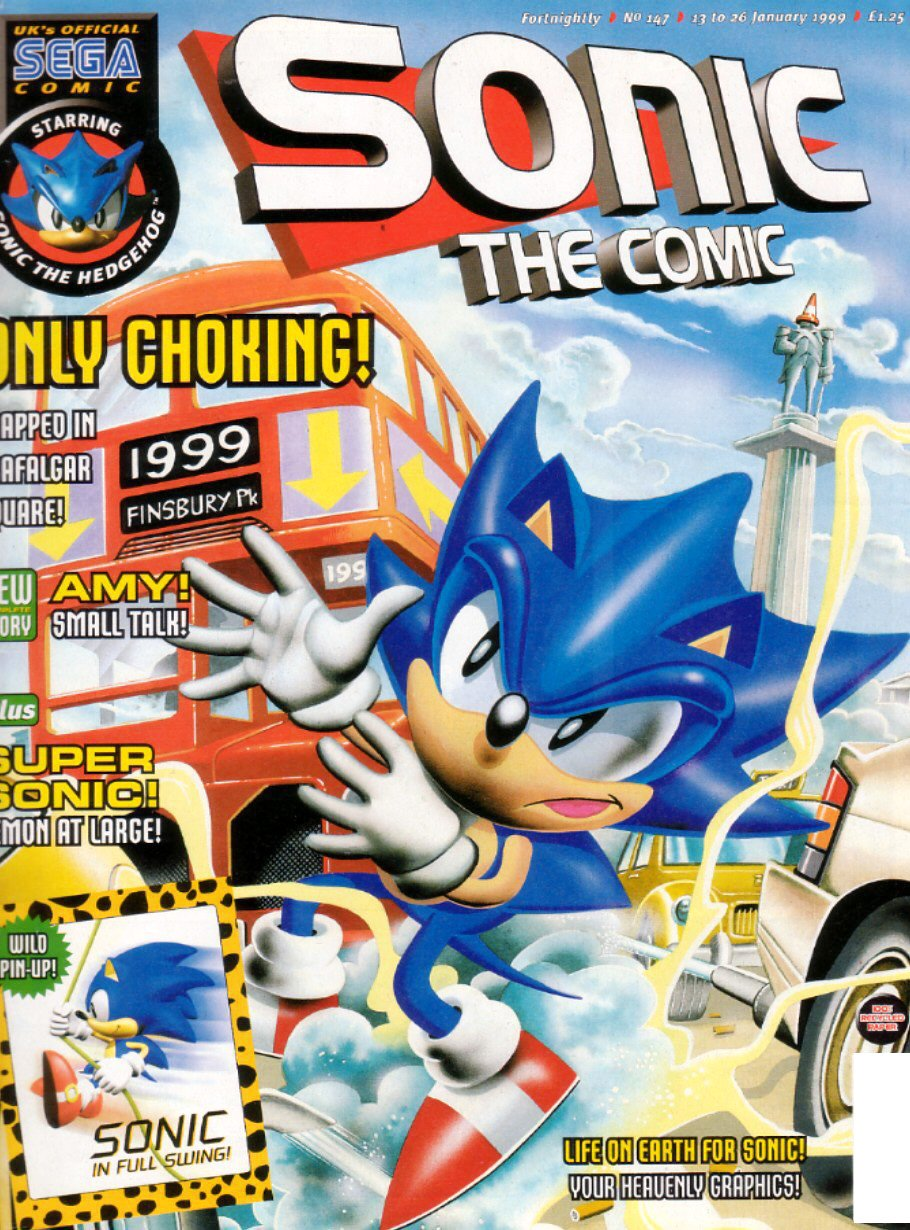 Sonic the Comic 147 (January 13, 1999)