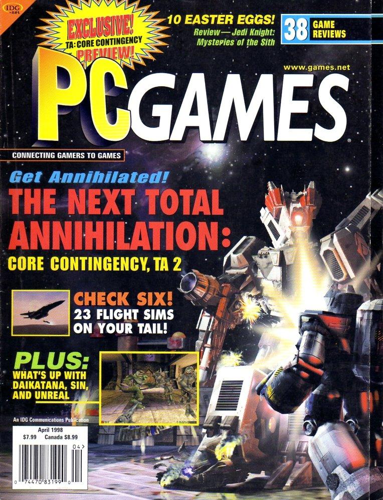 PC Games Vol. 05 No. 04 (April 1998)