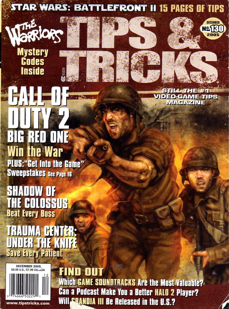 Tips & Tricks Issue 130 (December 2005)