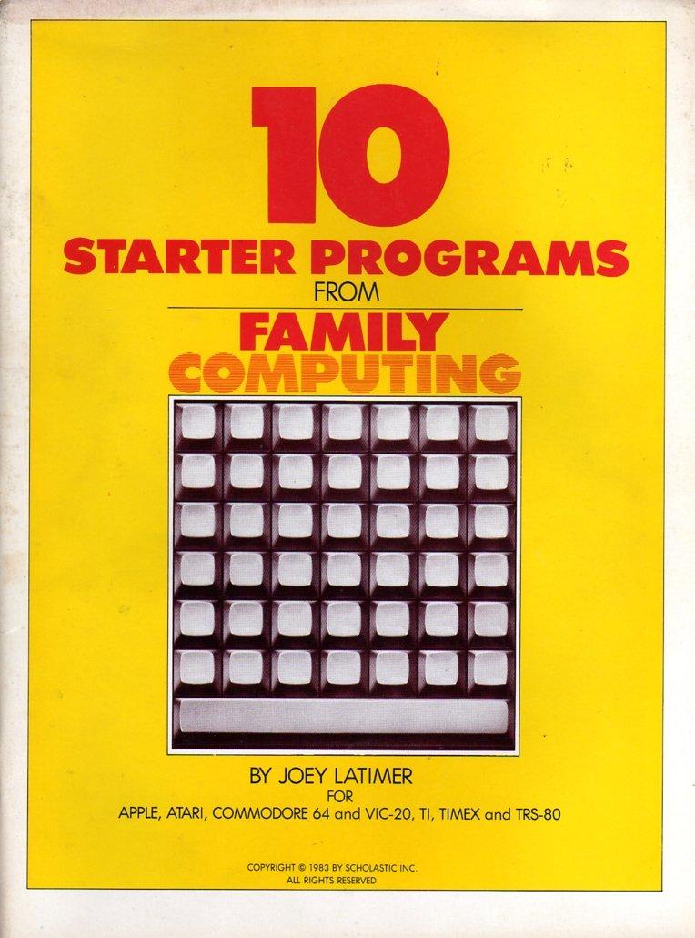 10 Starter Programs From Family Computing