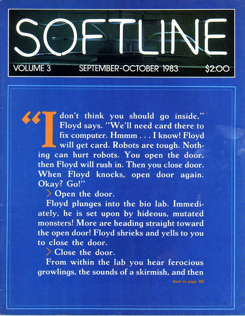 Softline Issue 13 Vol. 03 No. 01