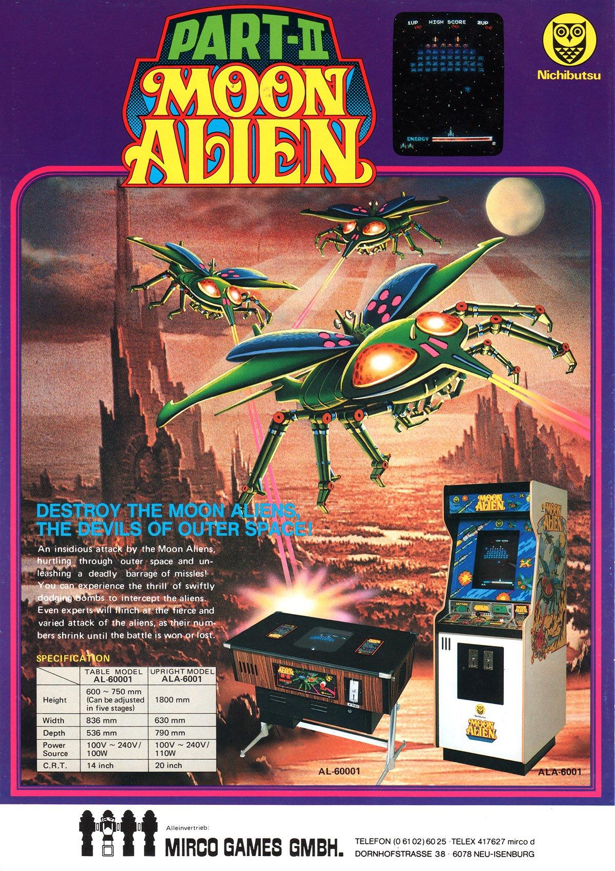 Moon Alien Part II