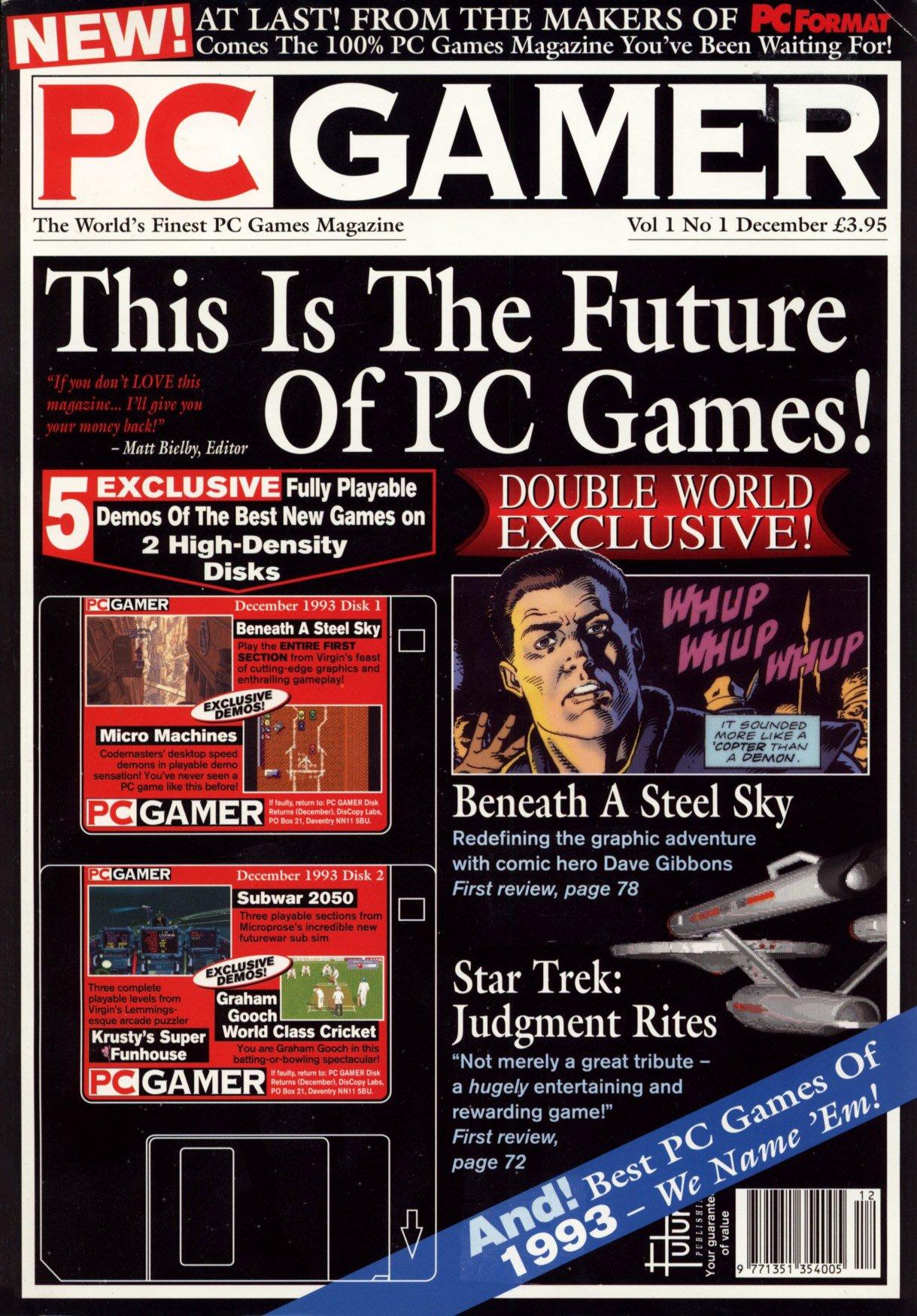 PC Gamer UK 001 December 1993