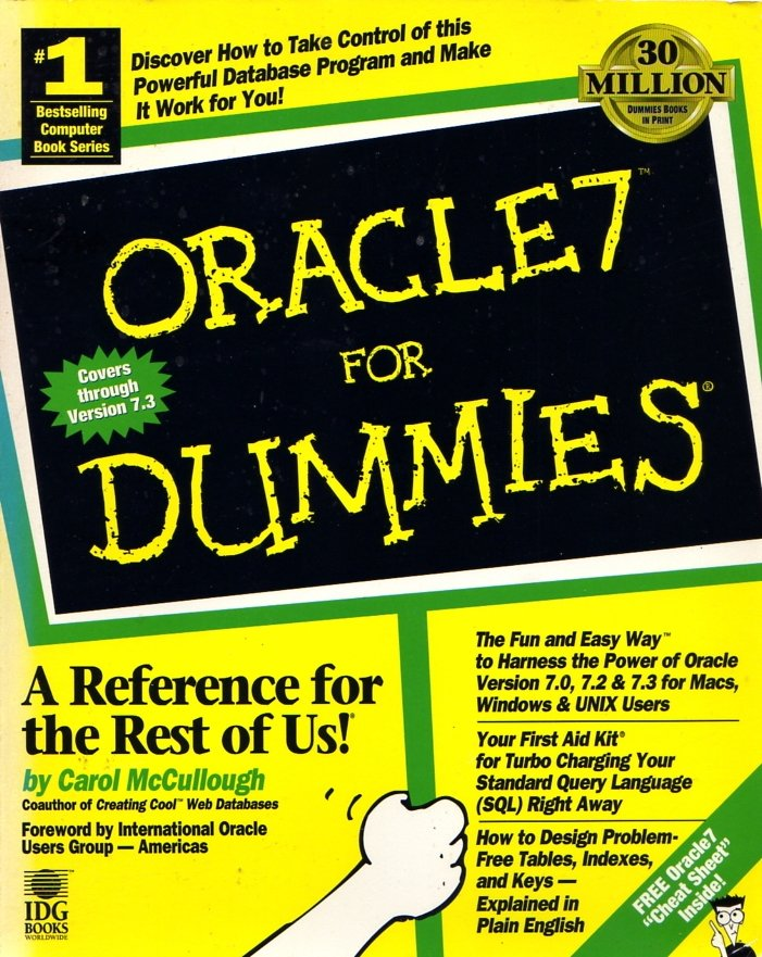 Oracle7 For Dummies