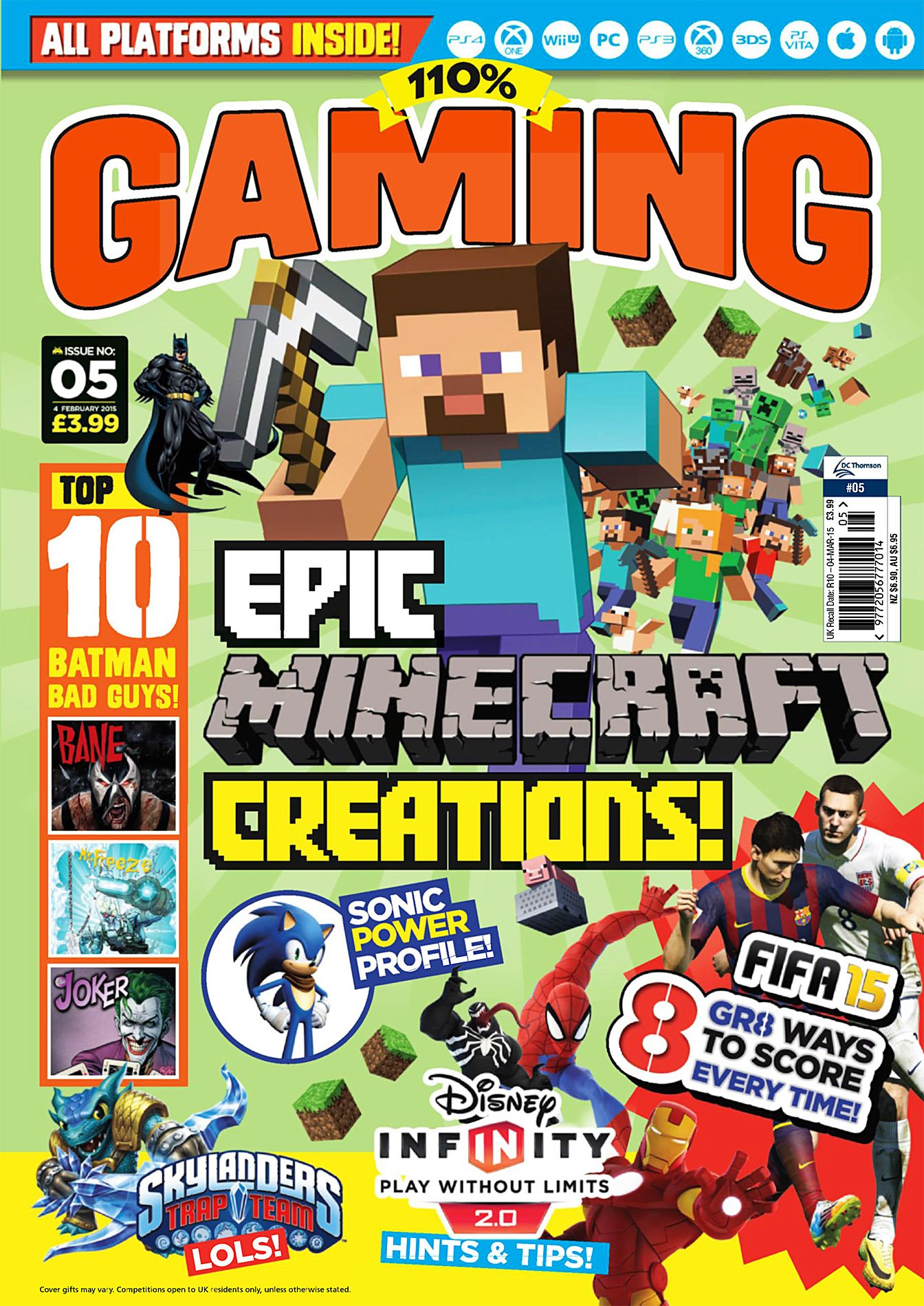 110% Gaming Issue 005 (February 4, 2015)