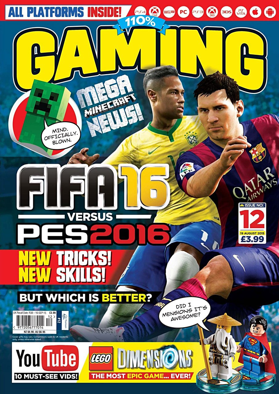 110% Gaming Issue 012 (August 19, 2015)