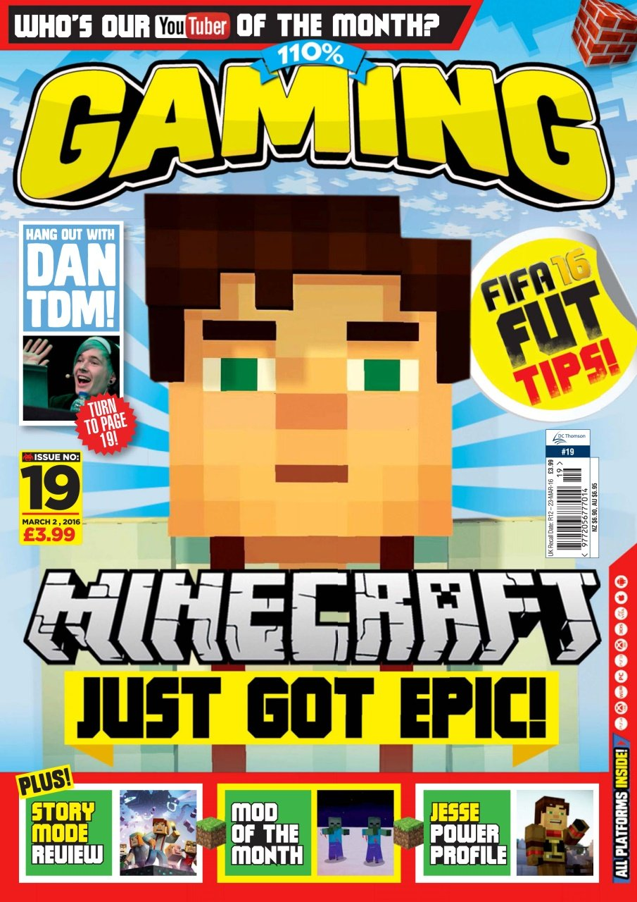110% Gaming Issue 019 (March 2, 2016)