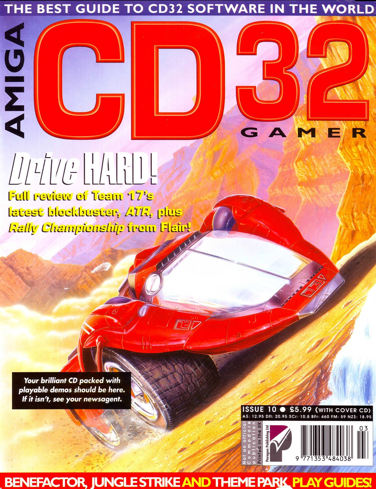 Amiga CD32 Gamer Issue 10 March 1995
