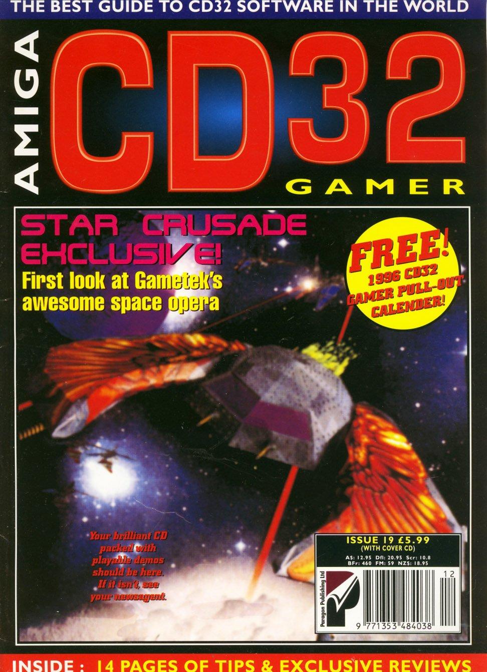 Amiga CD 32 Gamer Issue 19 December 1995