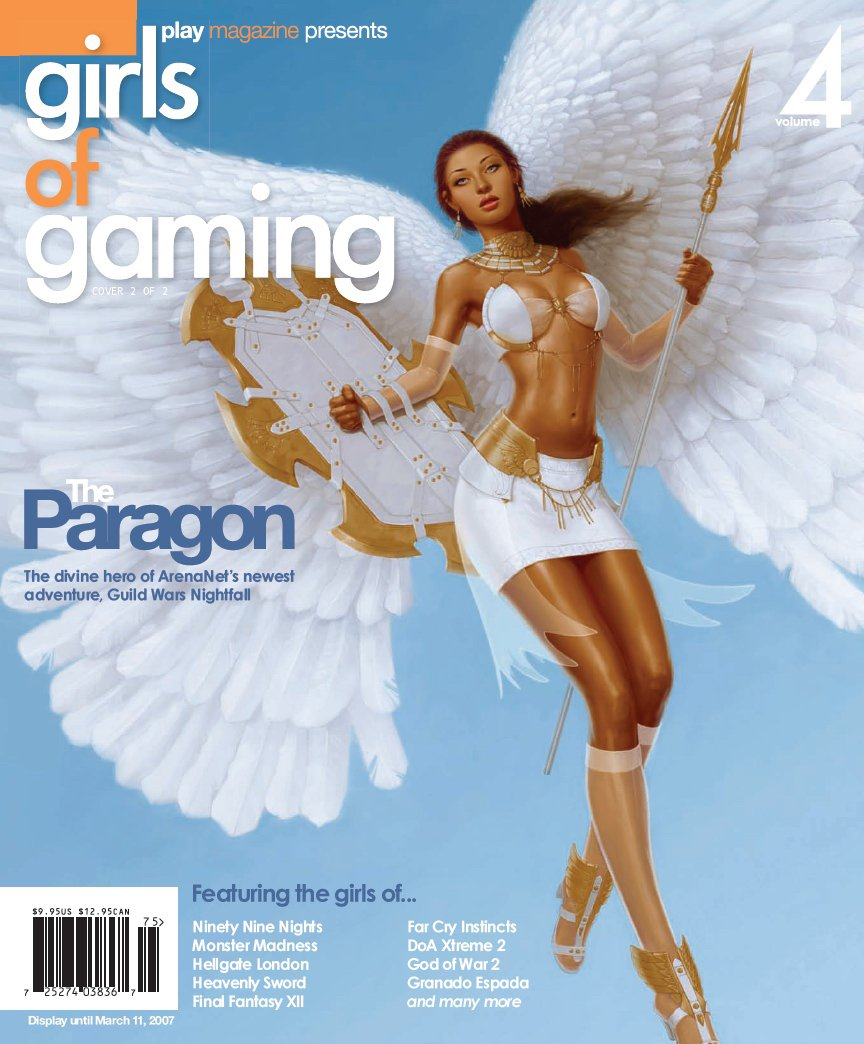 Girls of Gaming Issue 04 (cover 2) (2007)