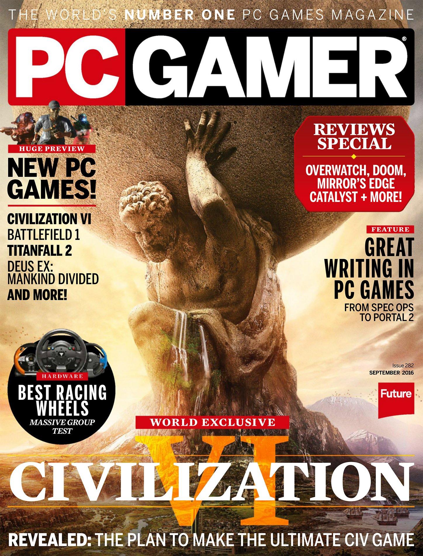 PC Gamer Issue 282 September 2016