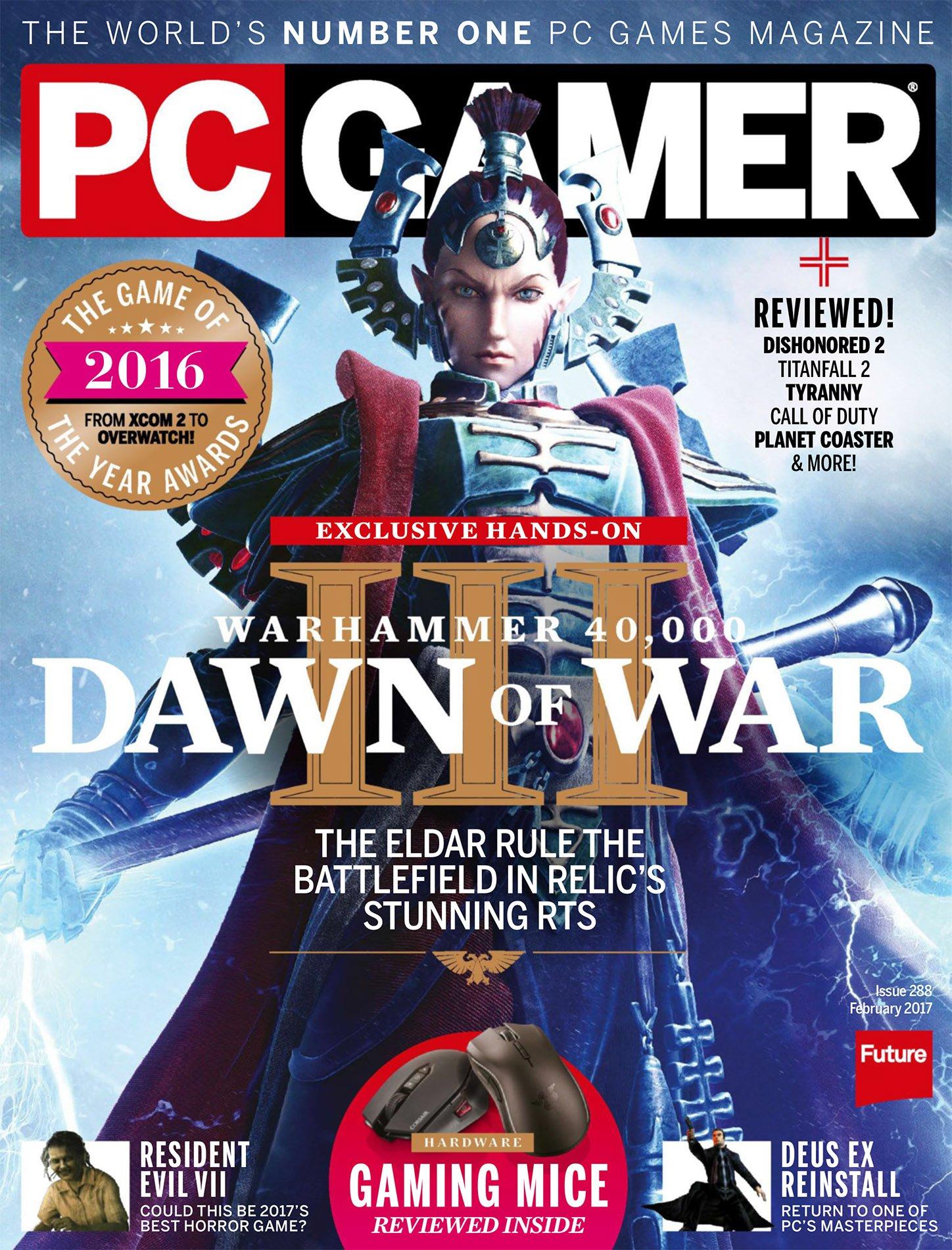 PC Gamer Issue 288 February 2017