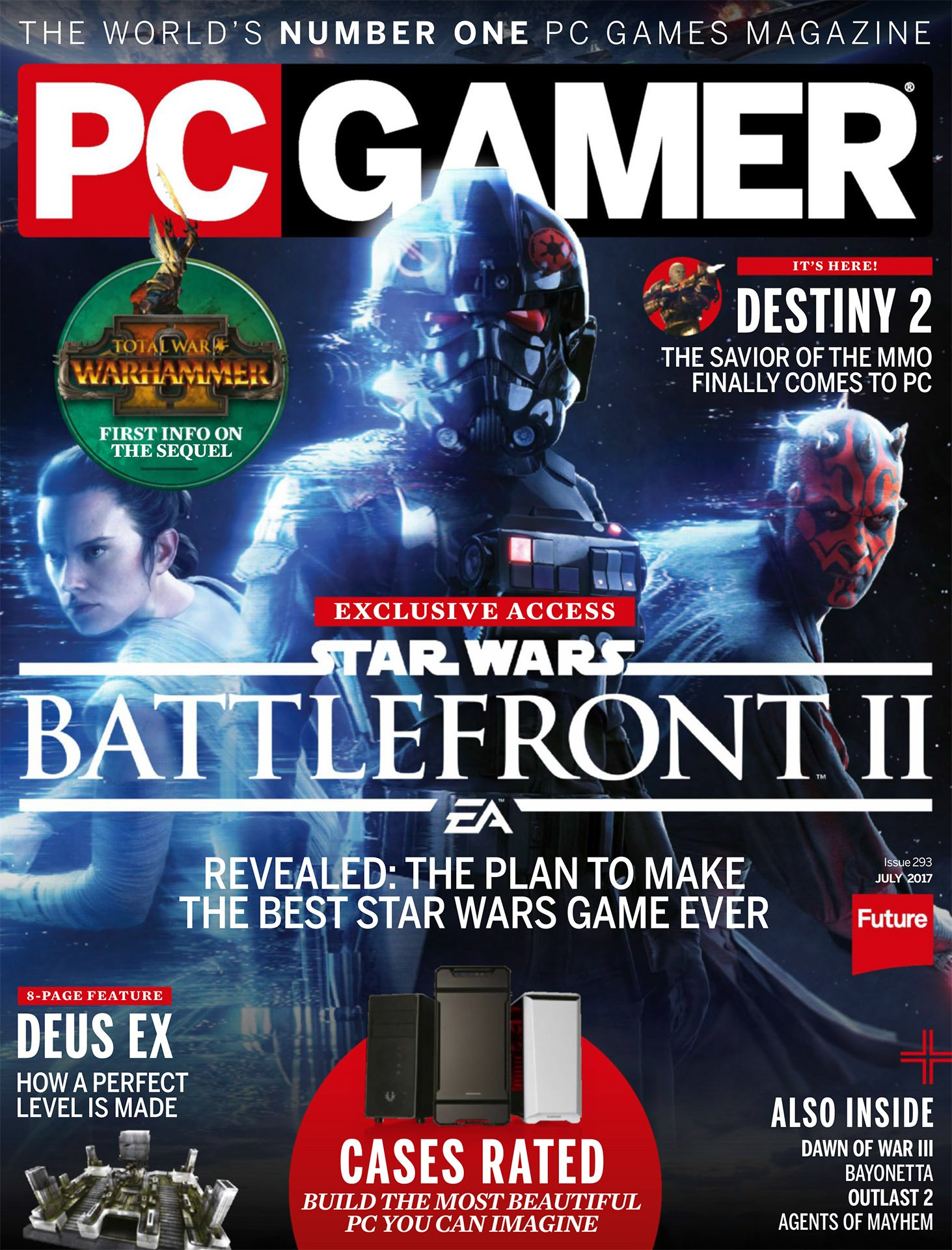 PC Gamer Issue 293 July 2017