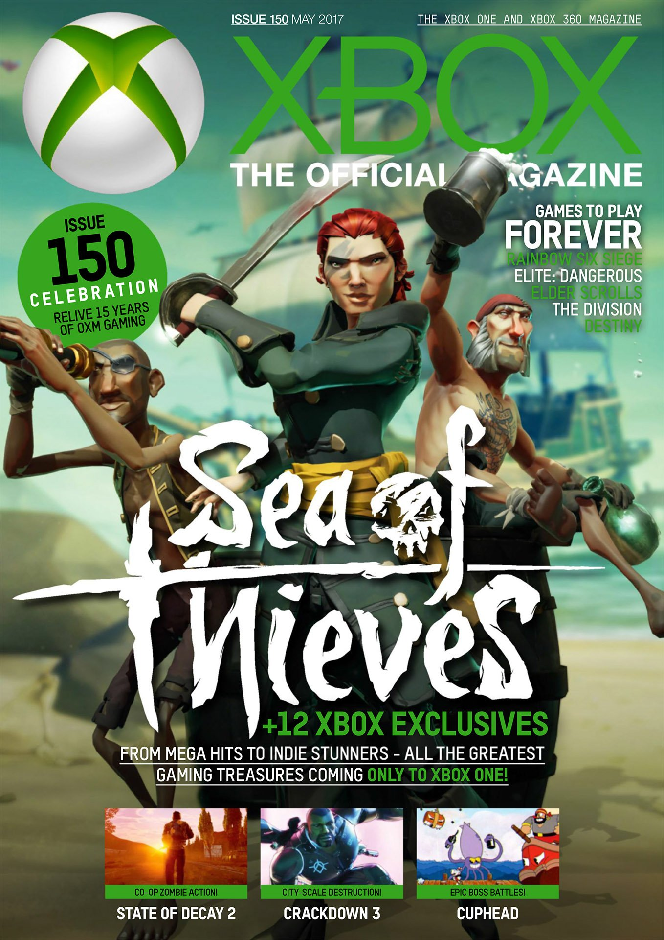 XBOX The Official Magazine Issue 150 May 2017