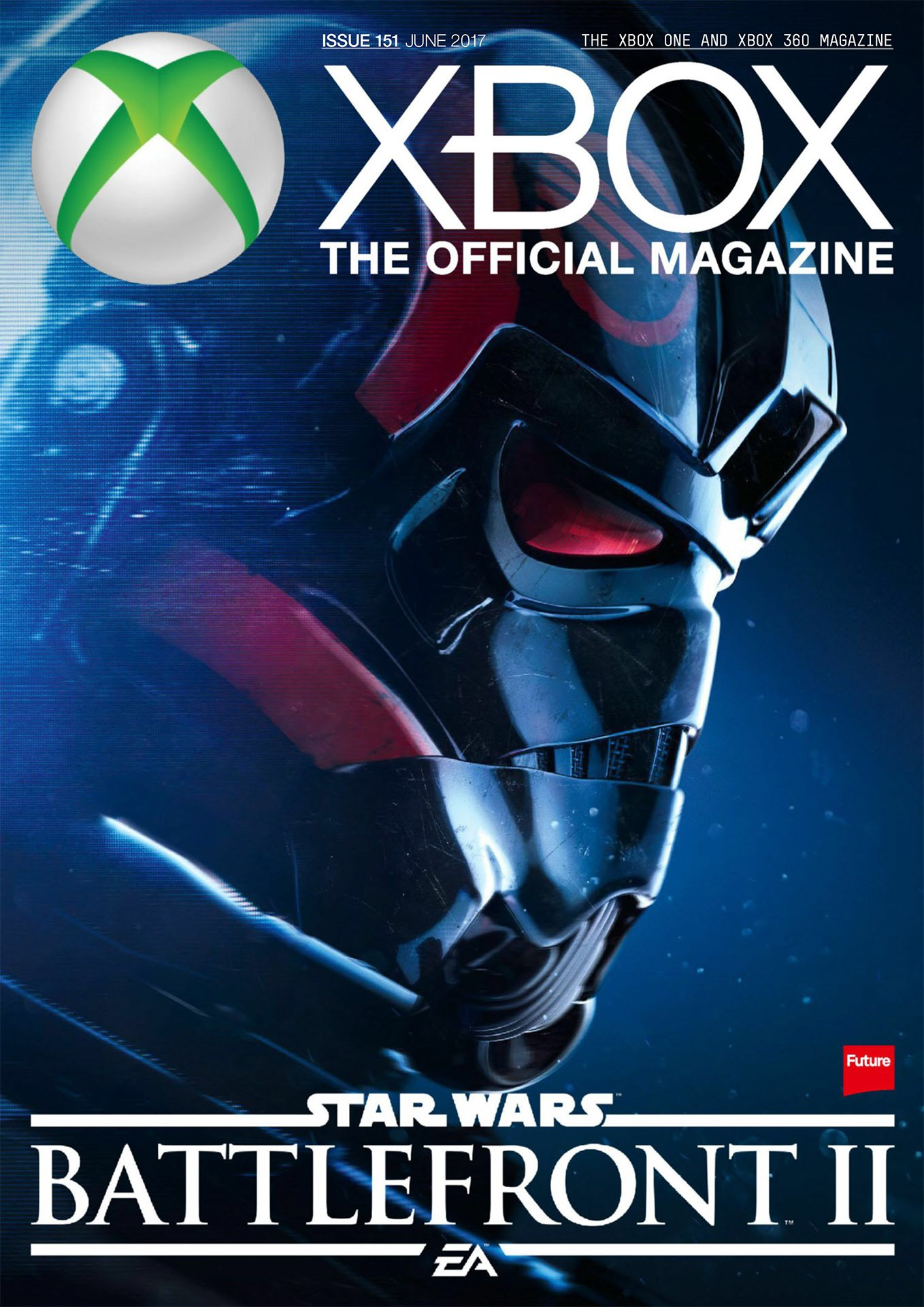 XBOX The Official Magazine Issue 151 June 2017 (cover a)