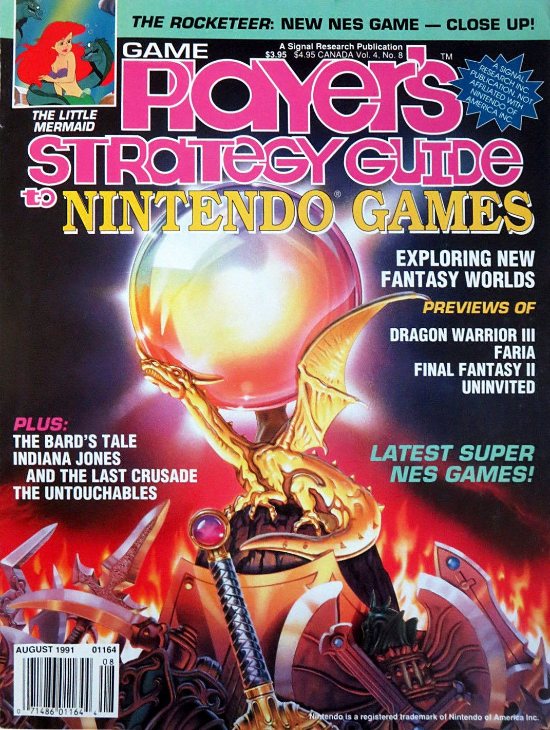 Game Player's Strategy Guide to Nintendo Games Vol.4 No.08 (August 1991)