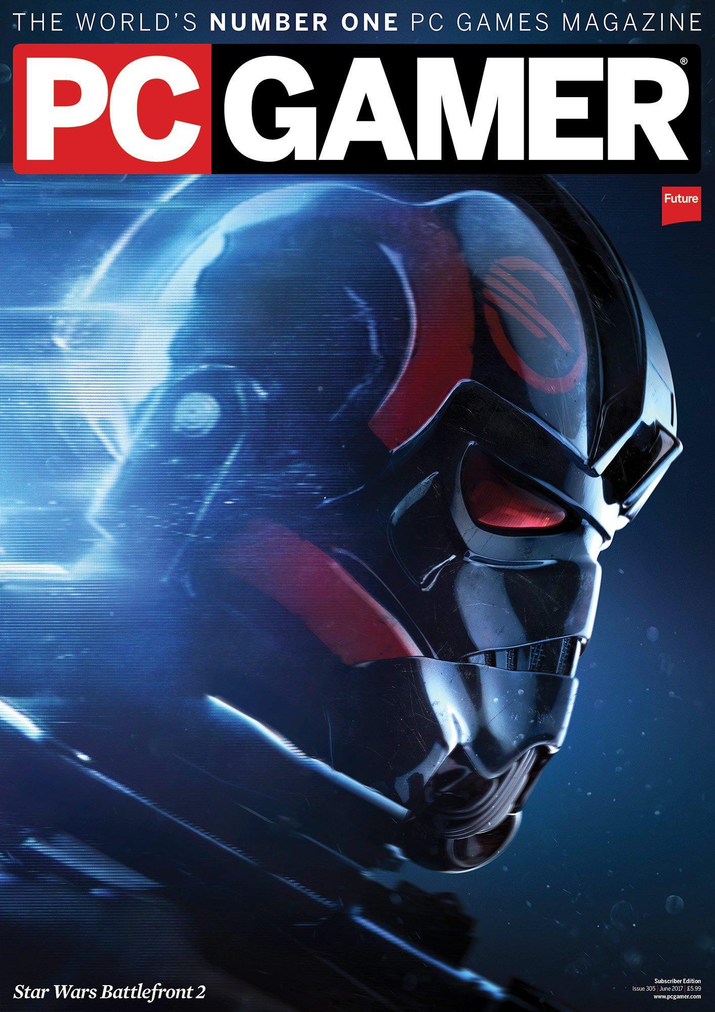 PC Gamer UK 305 June 2017 (subscriber edition)