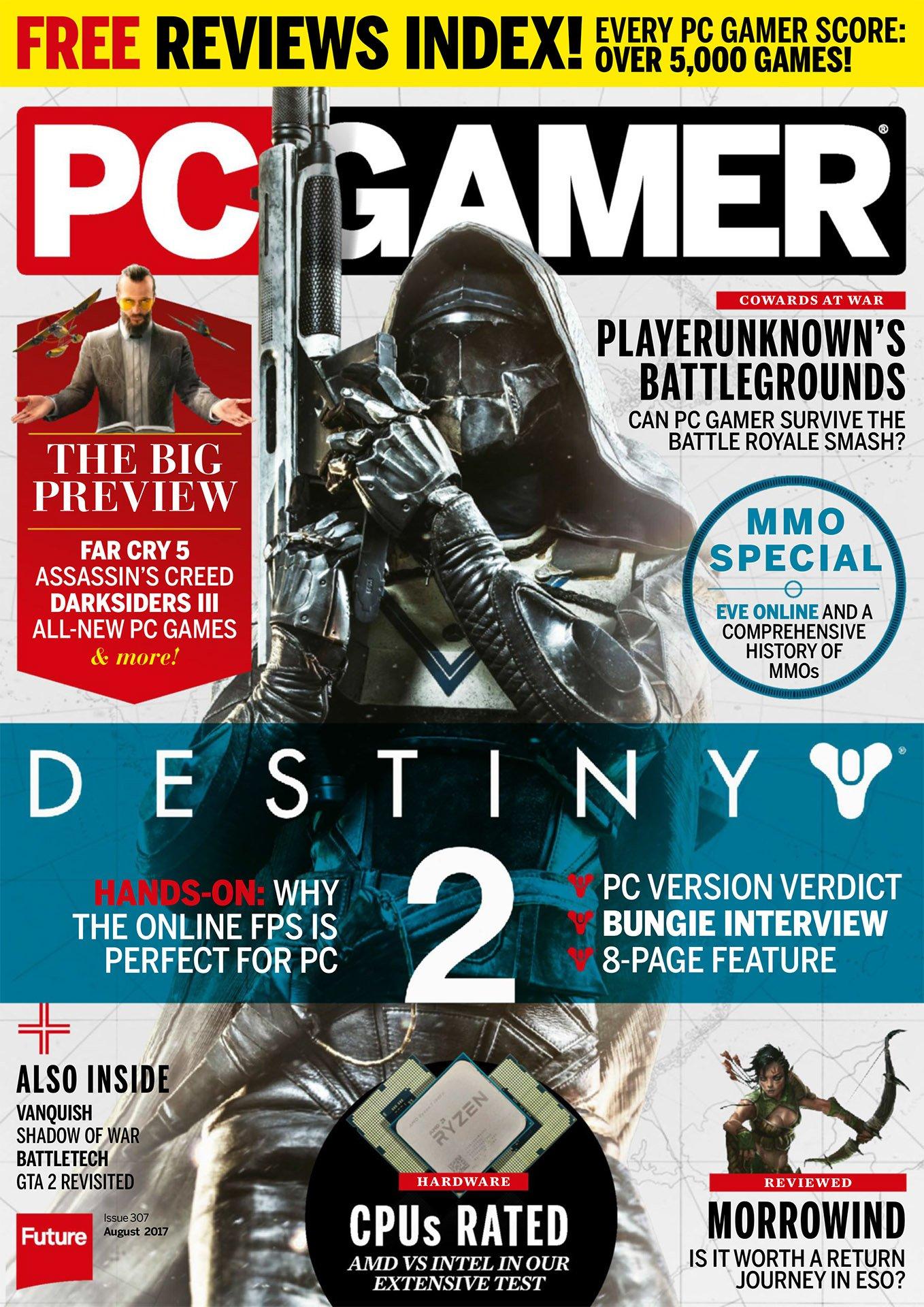 PC Gamer UK 307 August 2017